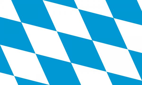 Bayern Raute Flagge 150 x 250 cm
